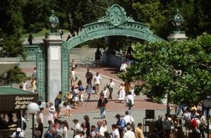 1989 Sather Gate, UC Berkeley