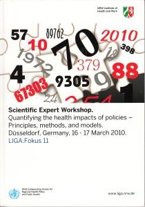 Fehr & Mekel 2010 Quantifying health impacts LIGA_Fokus 11 titel