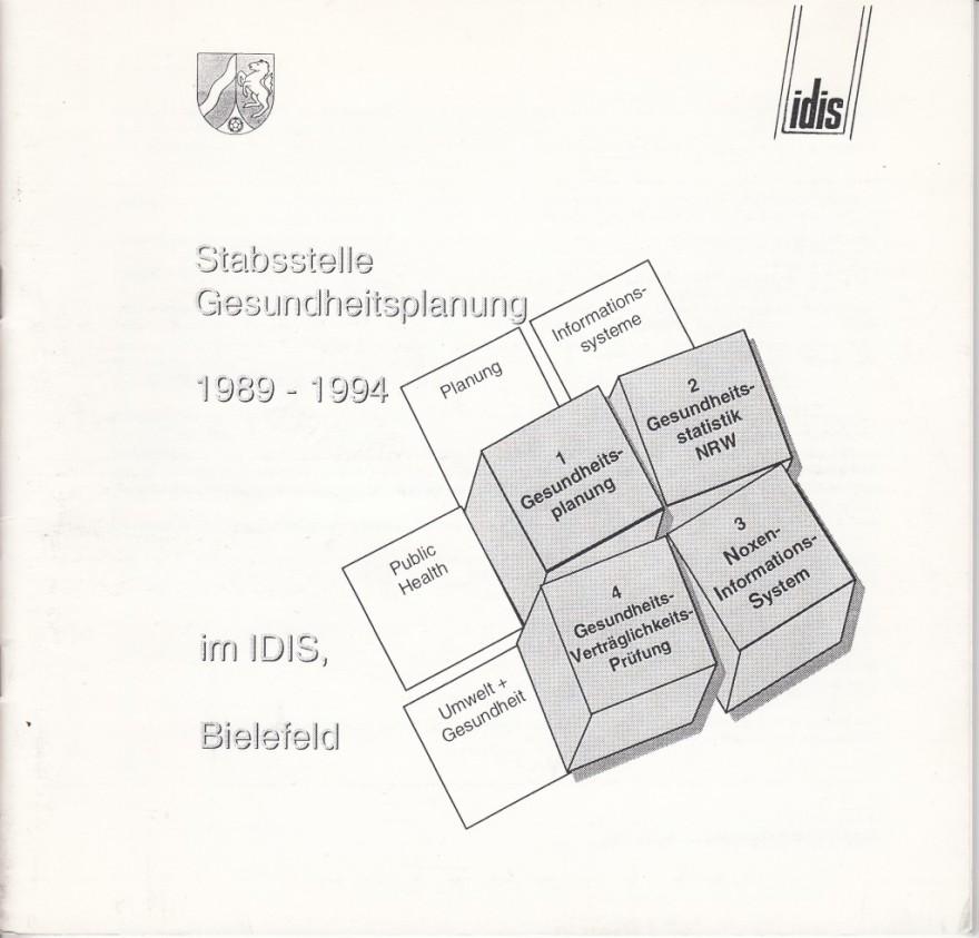 1994 idis, Stabsstelle Gesundheitsplanung 1989-1994