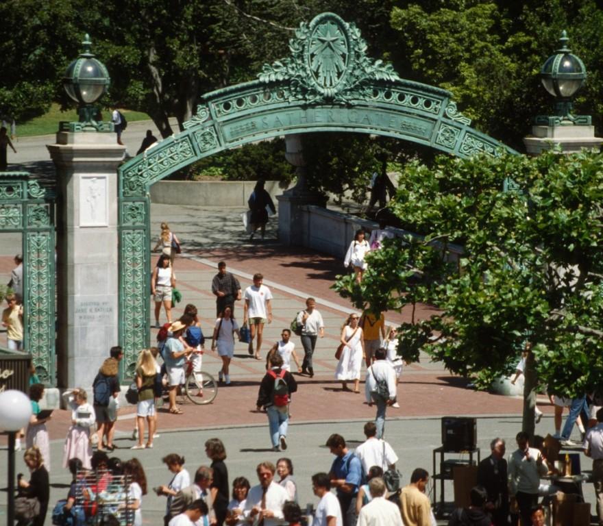 1989_05 UC Berkeley (CA), Sather Gate