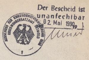 1990 Kriegsdienst (2)