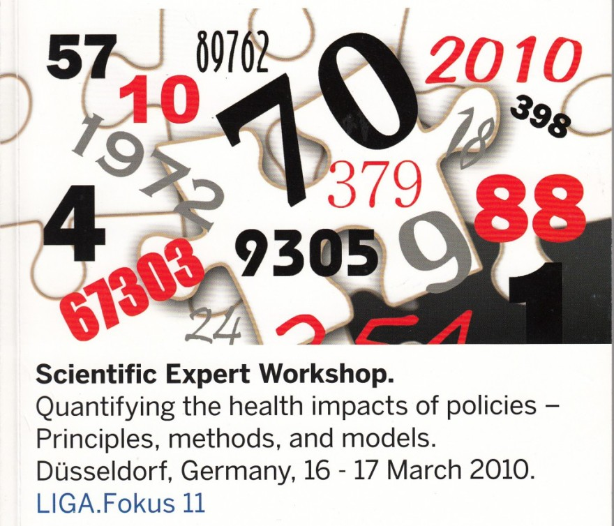 2010_03_16-17 Expert Workshop: Quantifying health impacts of policies