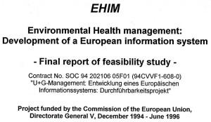 1996 EHIM report