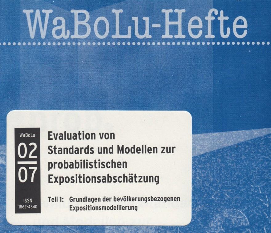 2007 Mekel et al: Xprob - Eval von Standards und Modellen