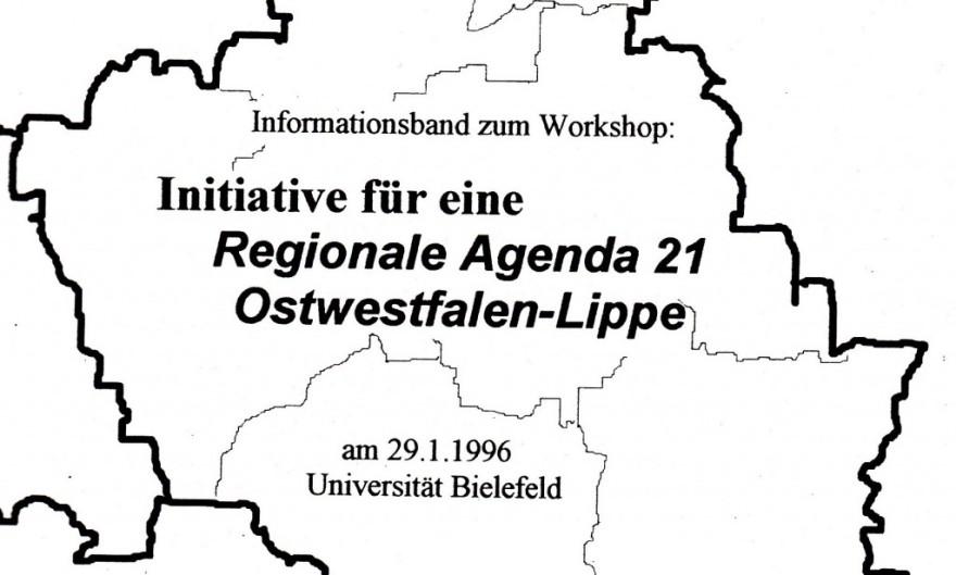 "1996_01_29 U Bielefeld: ""Initiative für Regionale Agenda 21 Ostwestfalen-Lippe"""