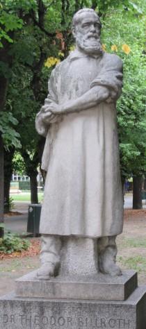 2015_09_09 Wien, Arkadenhof der Universität: Chirurg Theodor Billroth, 1829-1894