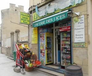 2015_03_20 Avignon (F): Epicerie des lices