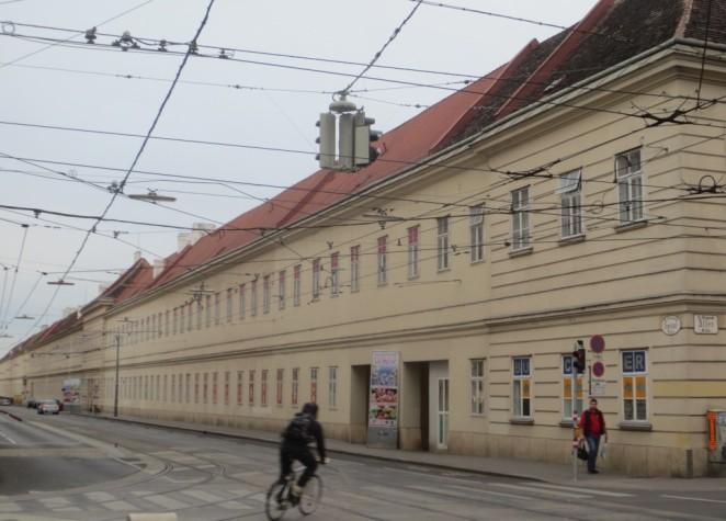 2014_05_03 Wien (A), Josefstadt, Spitalgasse: Altes Spital
