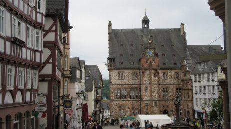 2016_05_20 Marburg/Lahn, Rathaus und Markt