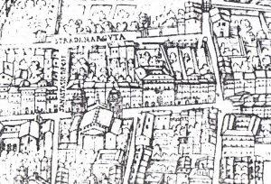 1625 G. Maggi, Plan von Rom (I), Detail