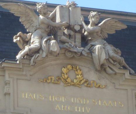 2014_05_05 Wien (A), Minoritenplatz: Haus-, Hof- und Staatsarchiv
