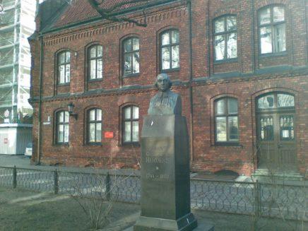 2012_03_20 Riga (LV), Herder-Denkmal am Herderplatz