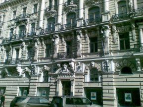 2012_03_20 Riga (LV), Jugendstil-Fassade