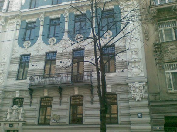 2012_03_20 Riga (LV), Elizabetes iela, Eisensteins Haus