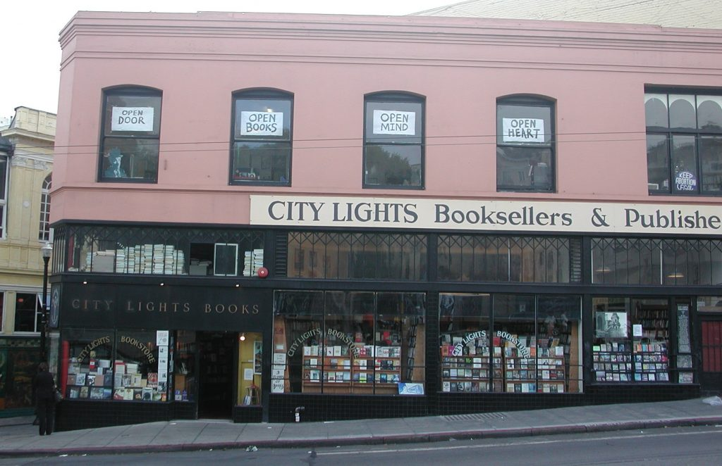 2012_09_04 San Francisco (CA), City Lights bookstore