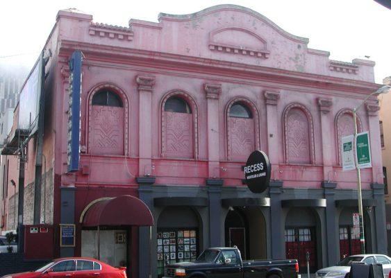 2012_09_04 San Francisco (CA), North Beach: Beat poets tour 2, Garibaldi Hall