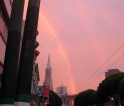 2012_09_05 San Francisco (CA), Columbus St: double rainbow