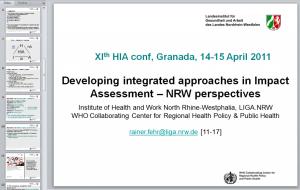 2011_04 IA integr, slide 1, HIA conf Granada (ES) [11-17]