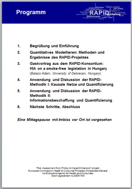 2011_10_19 RAPID meeting (2), Bielefeld
