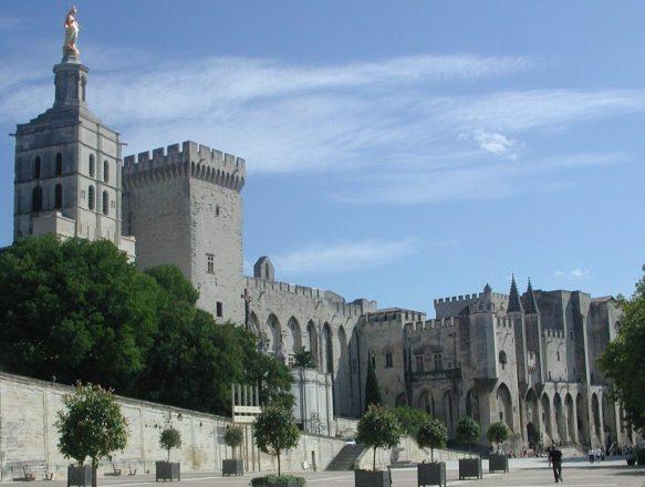 2011_09_05 Avignon (F), Papstpalast
