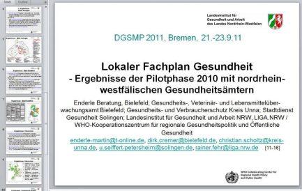 2011_09_23 Enderle et al: Fachplan G [11-16], bei DGSMP-Tagung Bremen