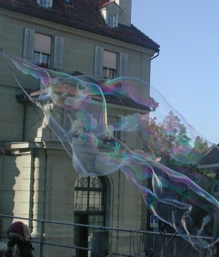 2011_10_22 Bern (CH), Seifenblase