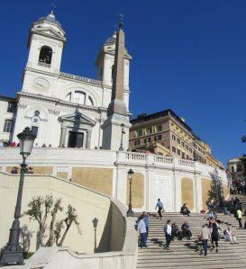 2017_03_28 Roma (I), Sant(issim)a Trinità dei Monte