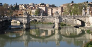 2017_03_28 Roma (I), Ponte Vittorio Emanuele II