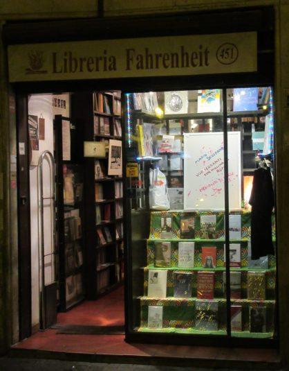 Libreria Fahrenheit 451, Roma