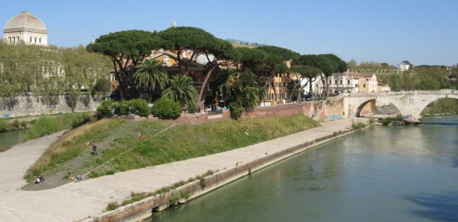2017_04_01 Roma (I), Tiber-Insel