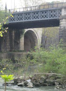 2017_04_01 Roma (I), Cloaca Maxima, Mündung in den Tiber