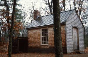1988_11_17 Concord (MA) Replica Thoreau's cabin