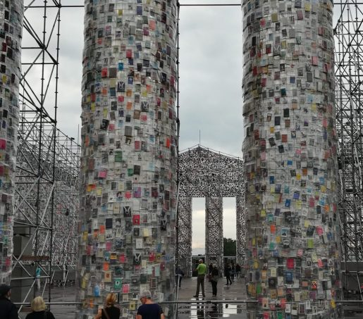 Marta Minujín: The Parthenon of Books