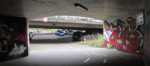 2018 Bielefeld: below the urban freeway