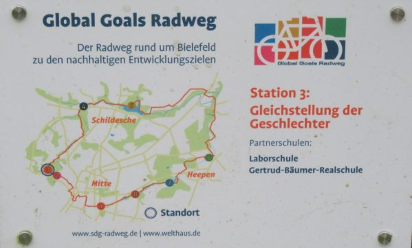 2018 Bielefeld: Global Goals cycling loop
