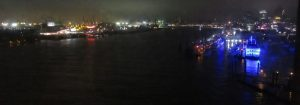 2018_01_18 Hamburg: Elbe river, from Elbphilharmonie