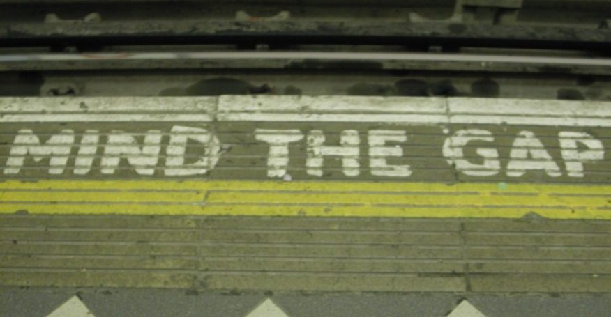 2010 London: Mind the gap