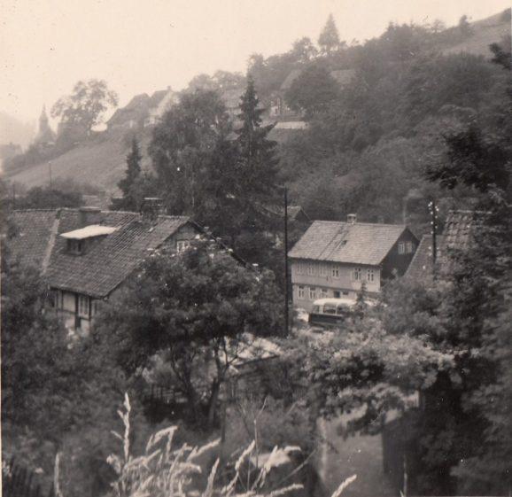 1955 Lautenthal (Harz). Foto: privat