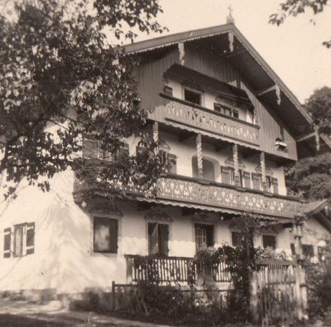 1956_07 Nussdorf Resch-Hof. Foto: privat