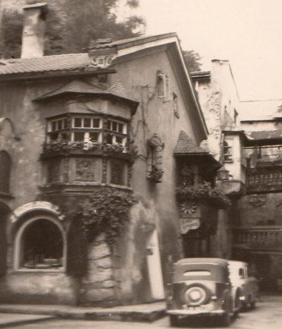 1956_07 Rattenberg am Inn. Foto: privat