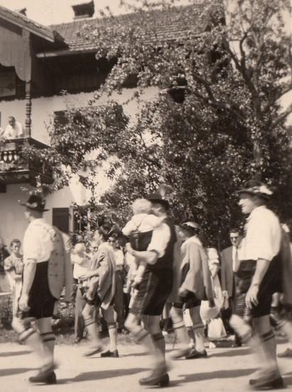 1957_07 Nussdorf Trachtenfest