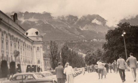 1957 Innsbruck Schloss. Foto: privat