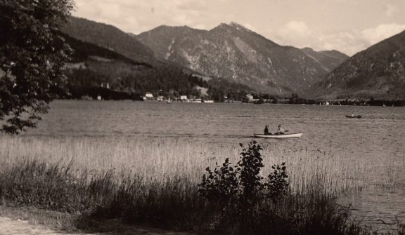 1957 Tegernsee. Foto: privat