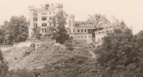 1958 Hohenschwangau. Foto: privat
