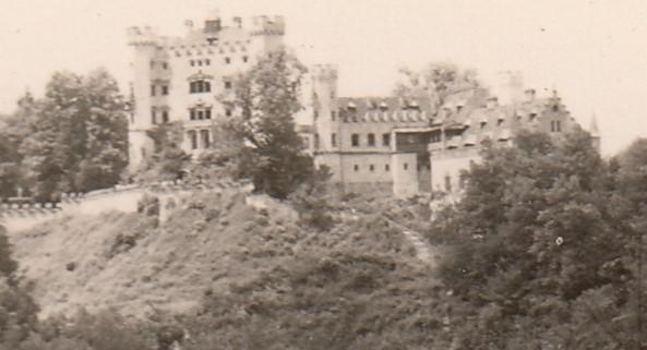 1958_07_08 Hohenschwangau. Foto: privat
