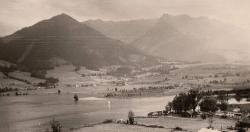1958 Walchsee in Tirol. Foto: privat