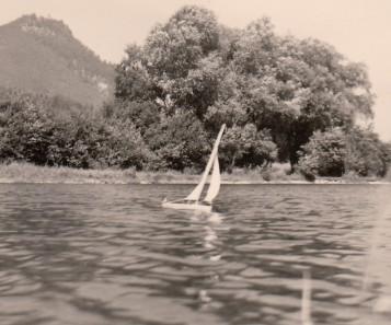 1961 Autobahnsee bei Inntal-Autobahn. Foto: privat