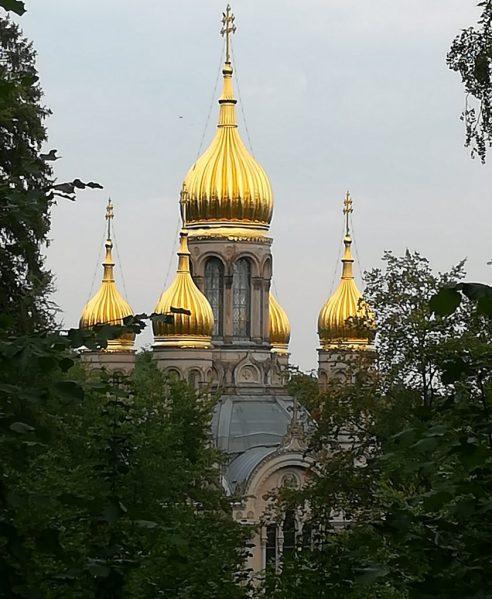 Wiesbaden: Russische Kirche