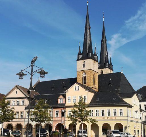 Saalfeld Markt