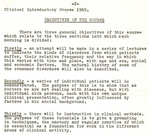 1969_09_29 Introductory Clinical Course, p2